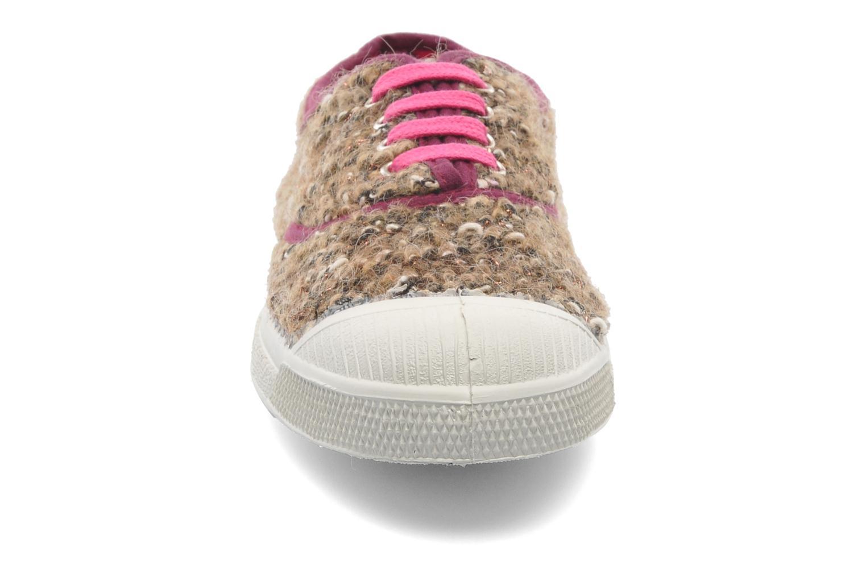 Sneaker Bensimon Tennis Lacets Tweedy mehrfarbig schuhe getragen