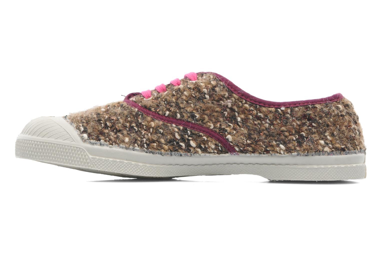 Sneakers Bensimon Tennis Lacets Tweedy Multicolor voorkant