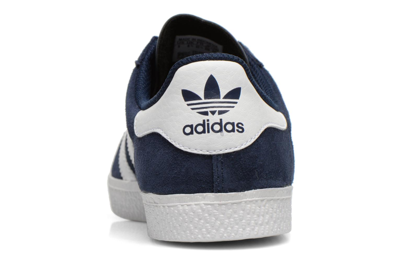 Sneakers Adidas Originals Gazelle 2 J Blauw rechts