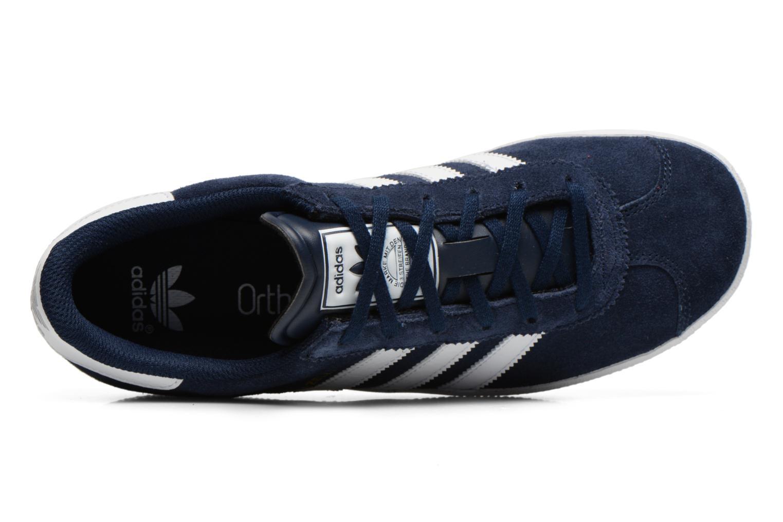 Baskets Adidas Originals Gazelle 2 J Bleu vue gauche