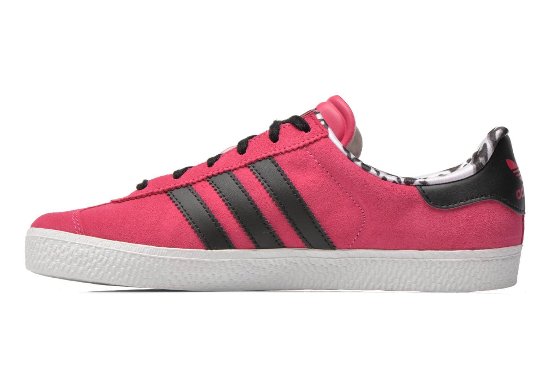 Sneakers Adidas Originals Gazelle 2 J Roze voorkant