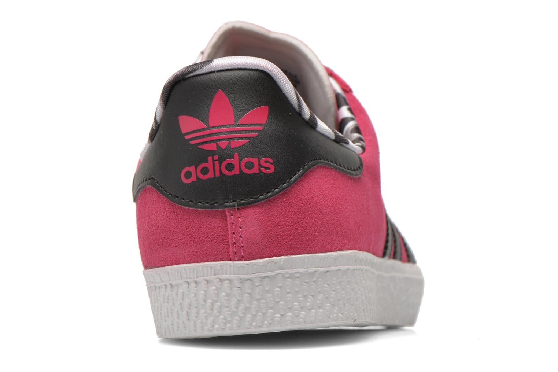 Sneakers Adidas Originals Gazelle 2 J Roze rechts
