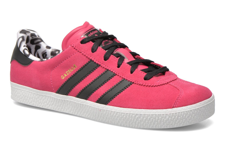 Sneakers Adidas Originals Gazelle 2 J Roze detail
