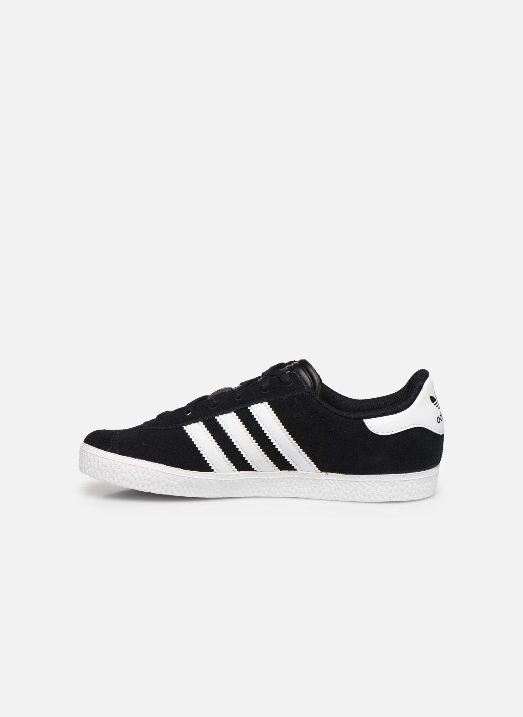 Sneakers Adidas Originals Gazelle 2 J Nero immagine frontale