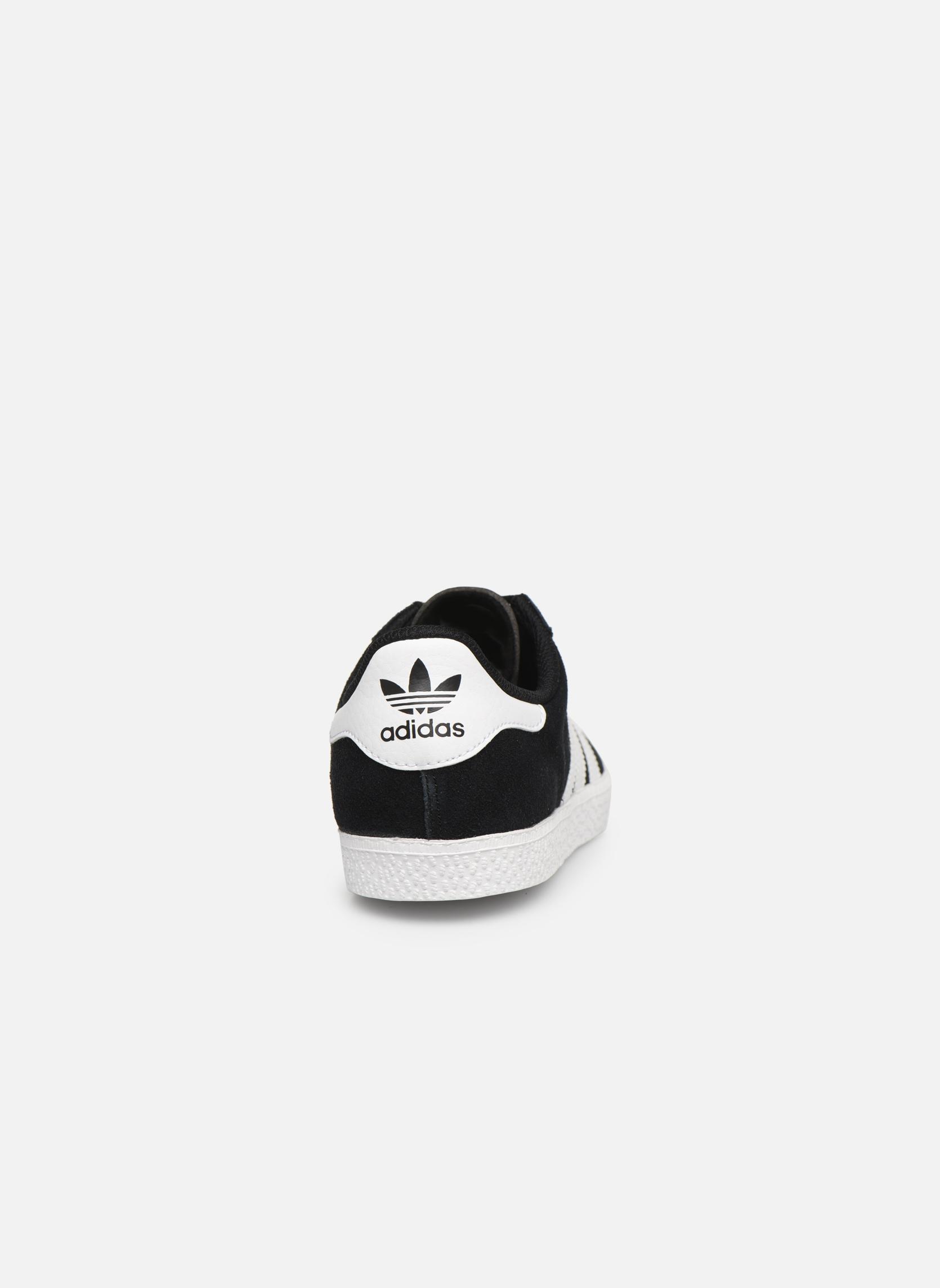 Sneakers Adidas Originals Gazelle 2 J Nero immagine destra