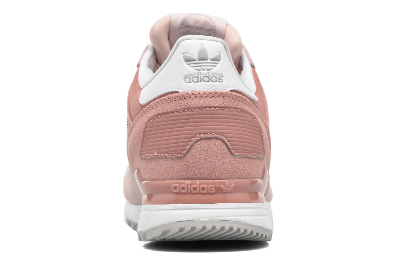 Baskets Adidas Originals Zx 700 W Rose vue droite