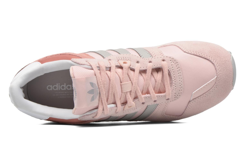 Baskets Adidas Originals Zx 700 W Rose vue gauche