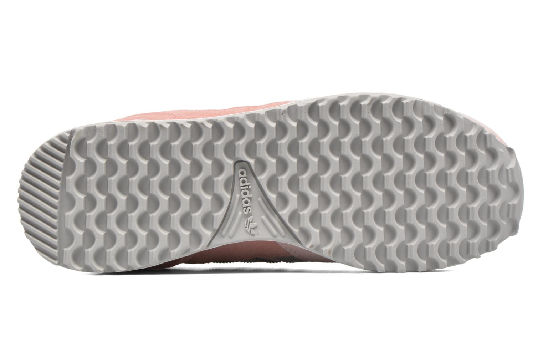 Baskets Adidas Originals Zx 700 W Rose vue haut