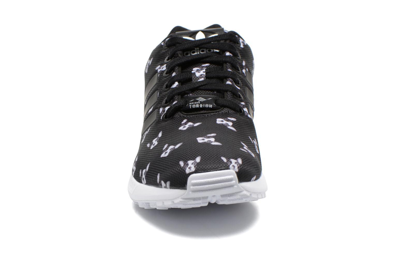 Sneaker Adidas Originals Zx Flux W schwarz schuhe getragen