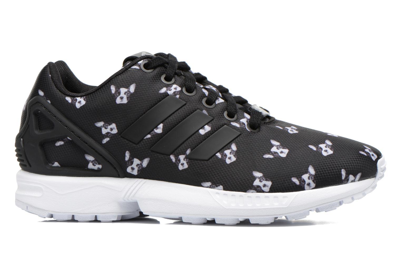 Sneaker Adidas Originals Zx Flux W schwarz ansicht von hinten