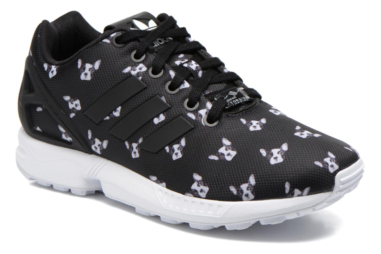 Sneaker Adidas Originals Zx Flux W schwarz detaillierte ansicht/modell