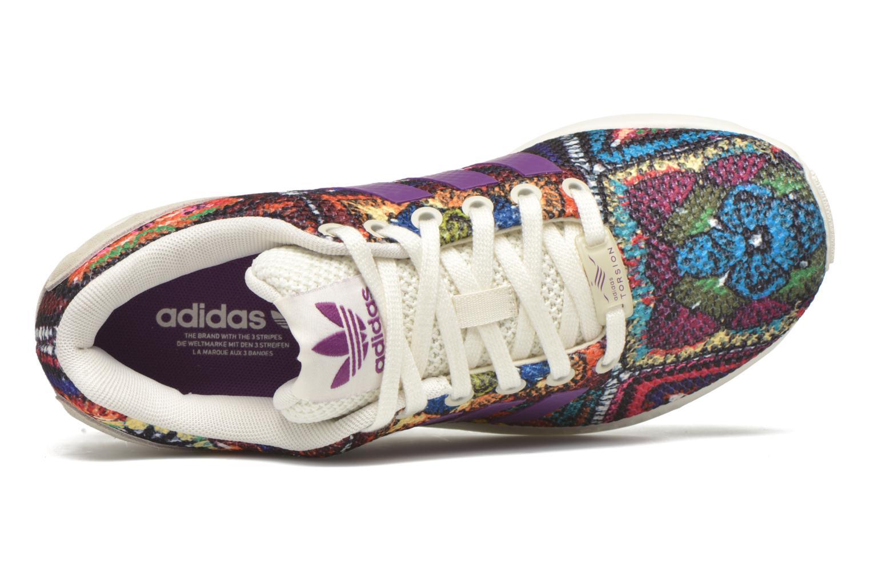 Baskets Adidas Originals Zx Flux W Multicolore vue gauche