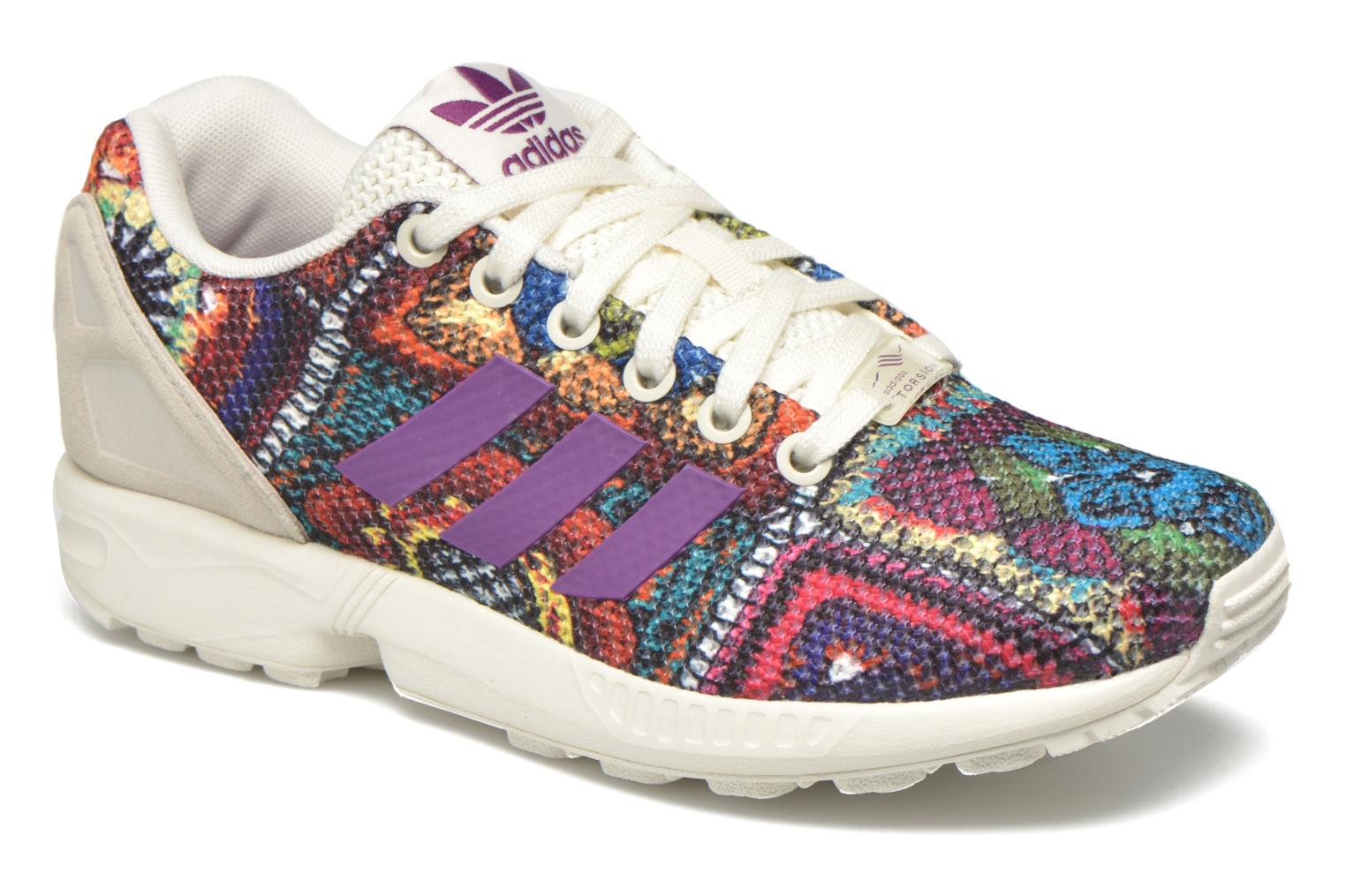 Sneakers Adidas Originals Zx Flux W Multicolor detail