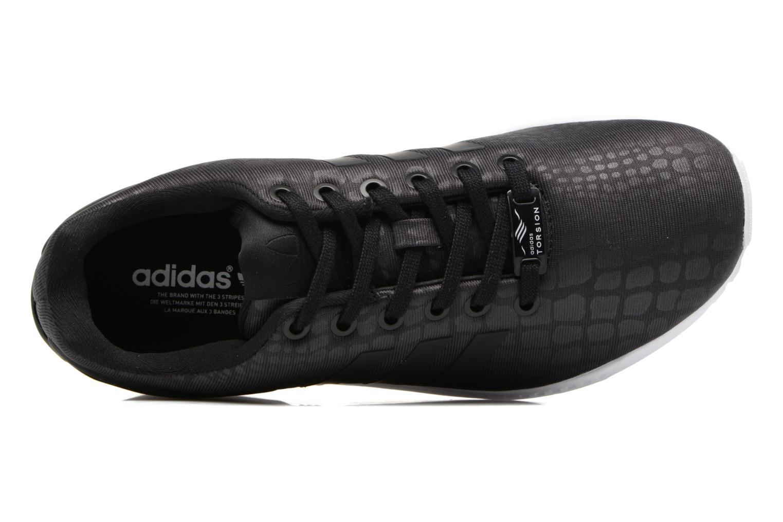 Baskets Adidas Originals Zx Flux W Noir vue gauche