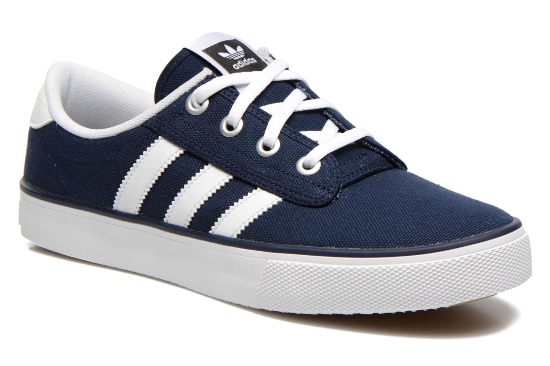 Sneakers Adidas Originals Kiel Blauw detail