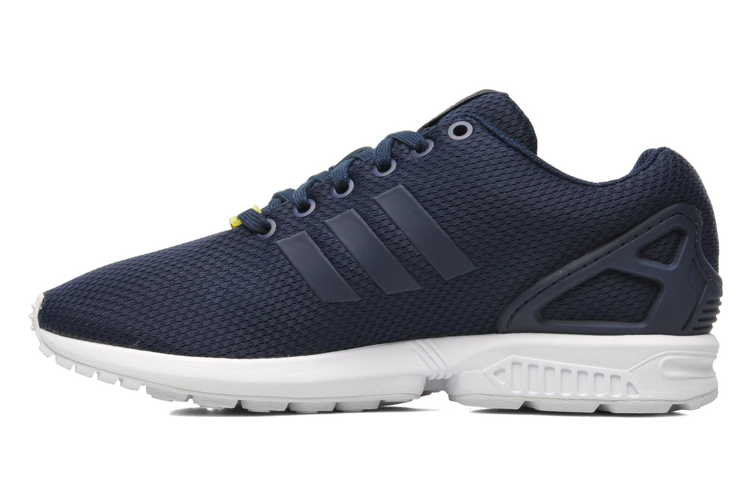 Baskets Adidas Originals Zx Flux Bleu vue face