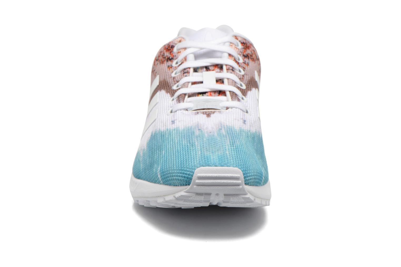 Sneaker Adidas Originals Zx Flux mehrfarbig schuhe getragen