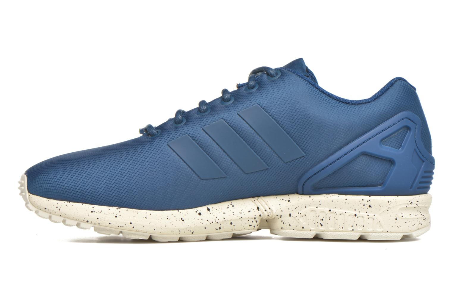 Trainers Adidas Originals Zx Flux Blue front view
