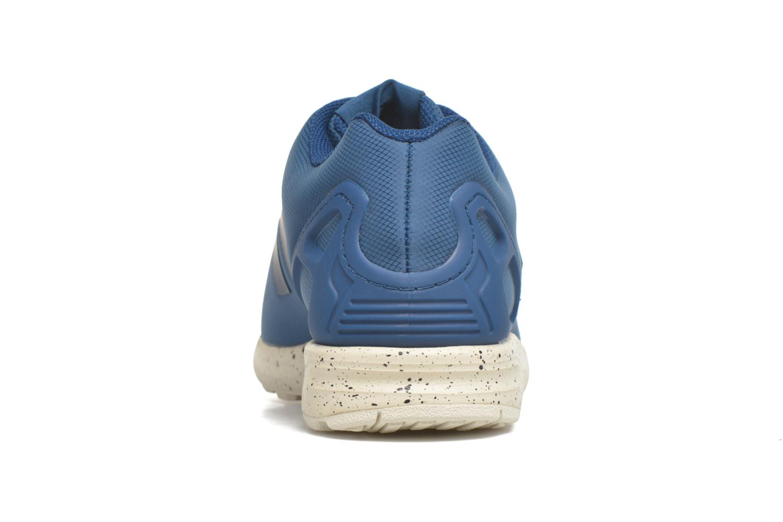 Deportivas Adidas Originals Zx Flux Azul vista lateral derecha
