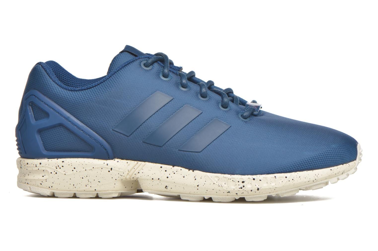 Trainers Adidas Originals Zx Flux Blue back view