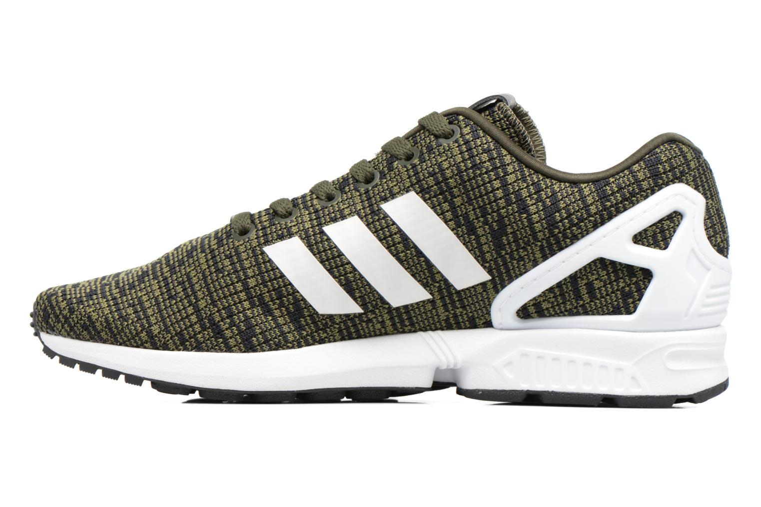 Baskets Adidas Originals Zx Flux Noir vue face