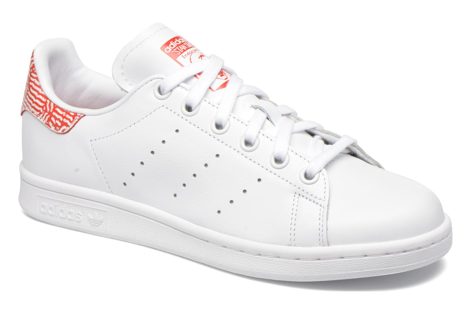 Stan Smith W Blanc-Blanc-Rose
