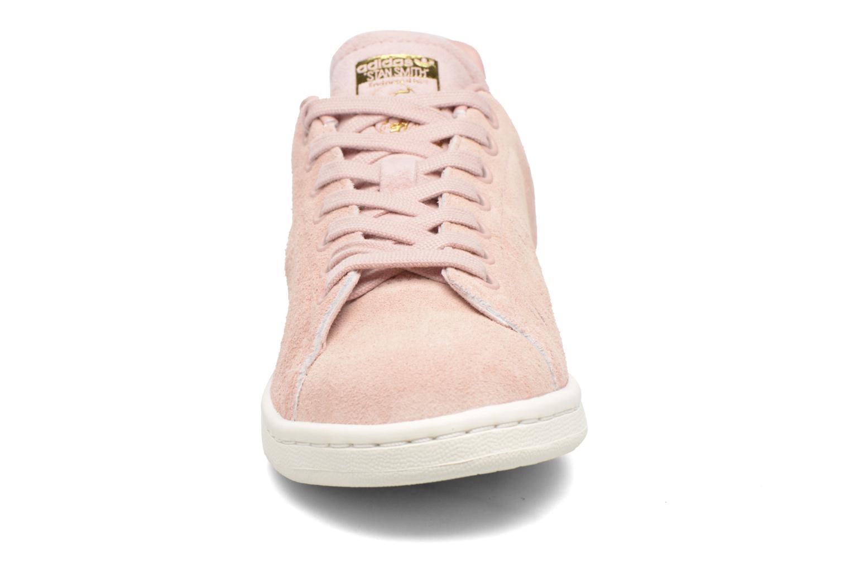 Baskets Adidas Originals Stan Smith W Rose vue portées chaussures