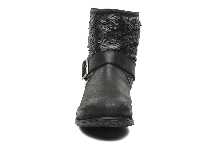 Bottines et boots Les Tropéziennes par M Belarbi Edgar Noir vue portées chaussures