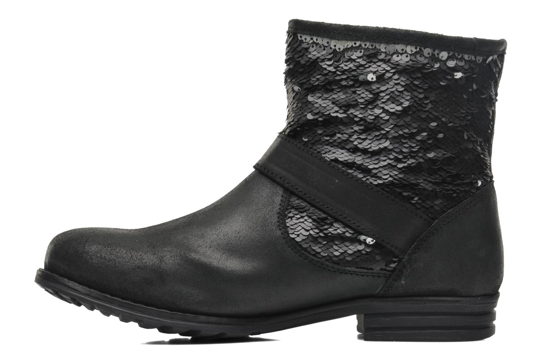 Bottines et boots Les Tropéziennes par M Belarbi Edgar Noir vue face