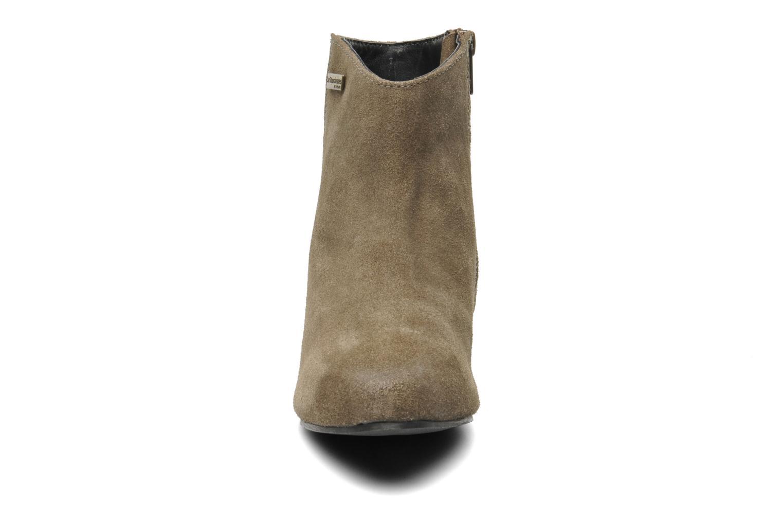 Bottines et boots Les Tropéziennes par M Belarbi Leana Gris vue portées chaussures