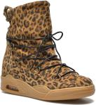 Natural Leopard Suede