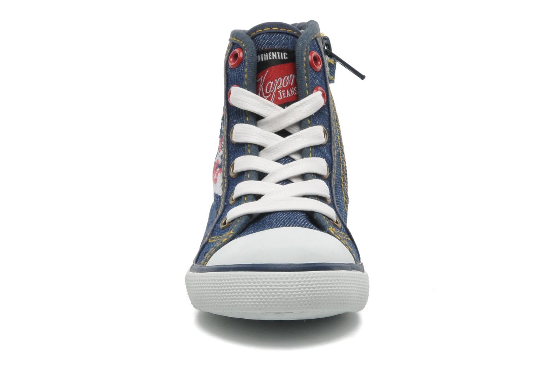 Baskets Kaporal Stanis Bleu vue portées chaussures