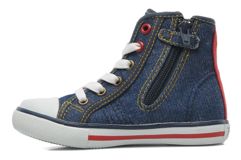Sneakers Kaporal Stanis Blauw voorkant