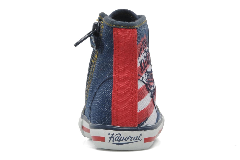 Sneakers Kaporal Stanis Blauw rechts
