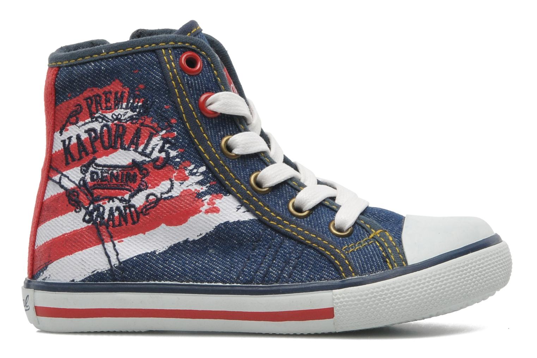 Sneakers Kaporal Stanis Blauw achterkant