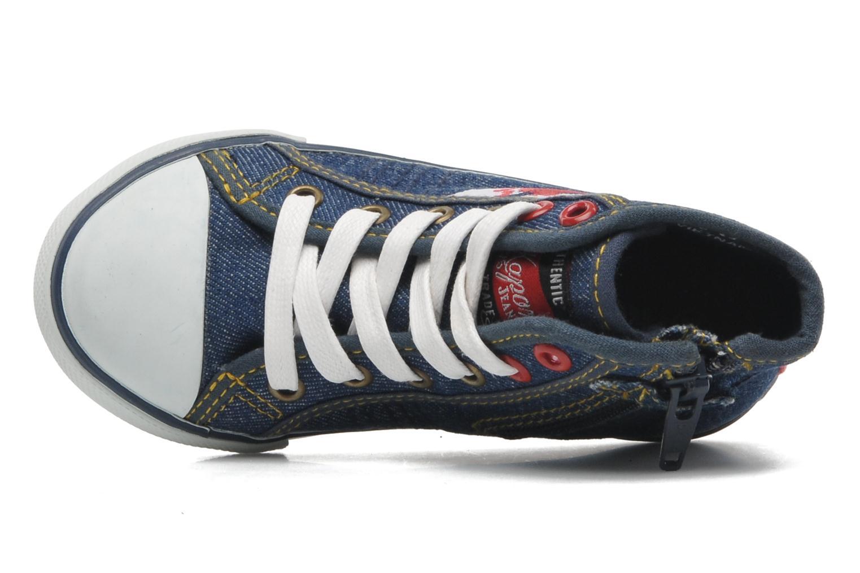 Sneakers Kaporal Stanis Blauw links