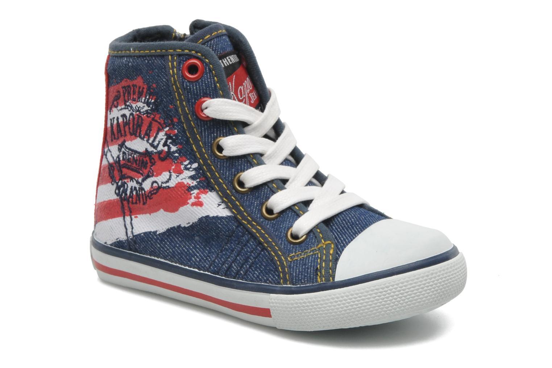 Sneakers Kaporal Stanis Blauw detail