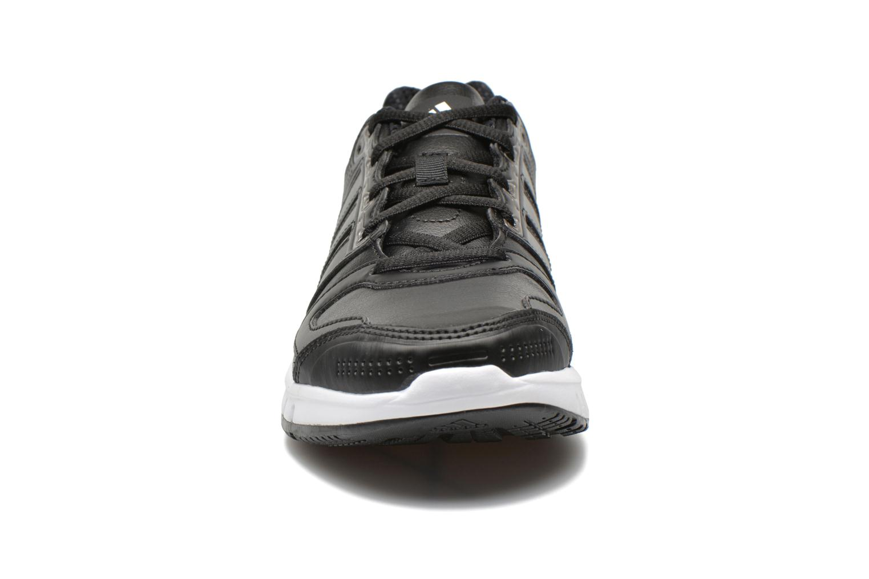 Chaussures de sport Adidas Performance Galaxy Lea W Noir vue portées chaussures