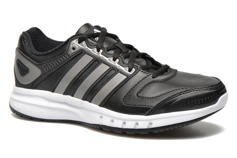 Chaussures de sport Adidas Performance Galaxy Lea W Noir vue détail/paire