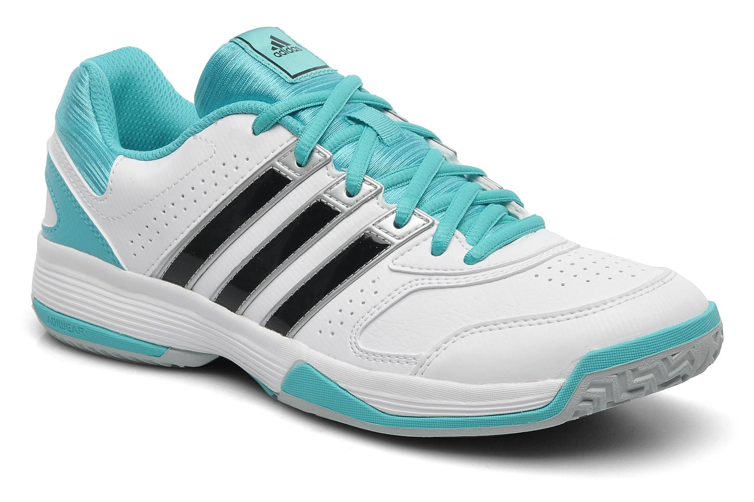 Sport shoes Adidas Performance Response Aspire Str W White detailed view/  Pair view