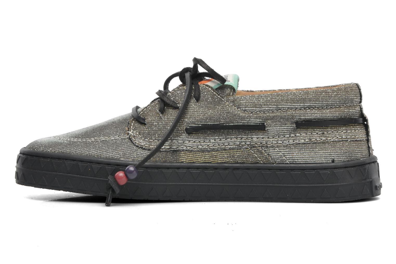 Chaussures à lacets Dolfie Dylan Argent vue face