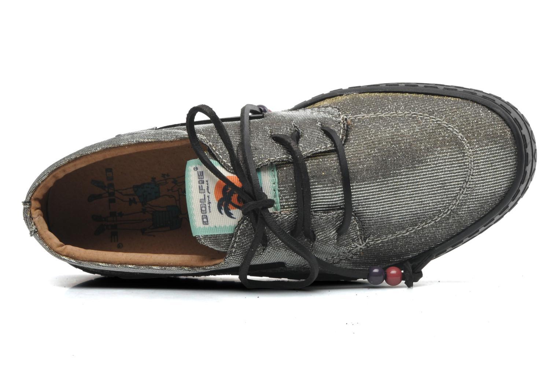 Chaussures à lacets Dolfie Dylan Argent vue gauche