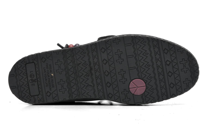 Chaussures à lacets Dolfie Dylan Argent vue haut
