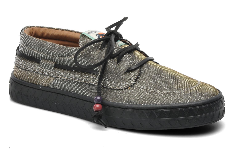 Chaussures à lacets Dolfie Dylan Argent vue détail/paire