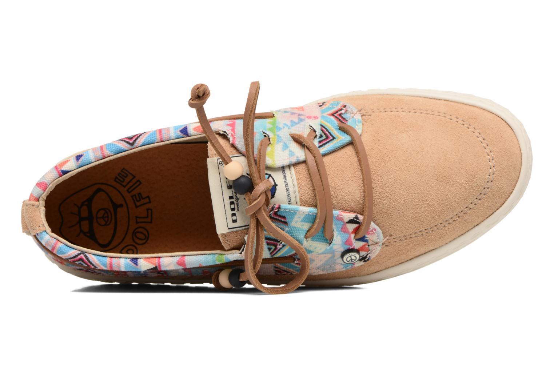Chaussures à lacets Dolfie Dylan Beige vue gauche
