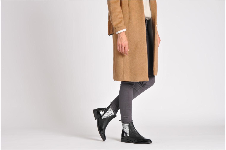 Stiefeletten & Boots HE Spring Anais schwarz ansicht von unten / tasche getragen