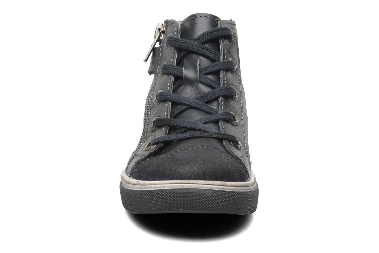 Baskets GBB HARRI Bleu vue portées chaussures