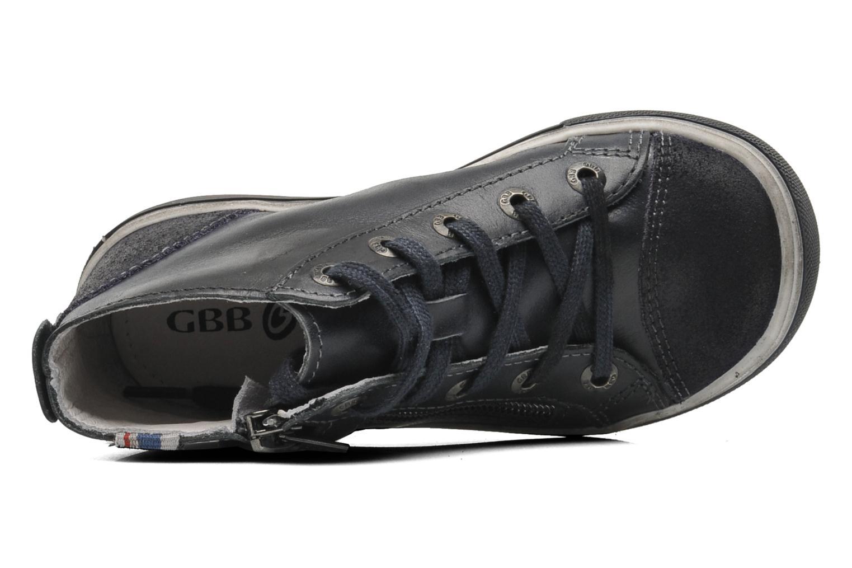 Sneaker GBB HARRI blau ansicht von links