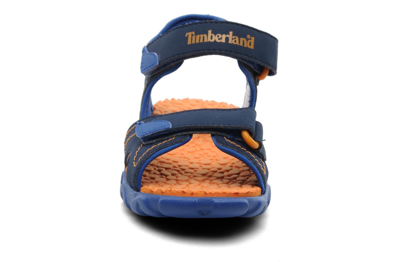 Sandalen Timberland Splashtown 2 Strap Sandal J blau schuhe getragen