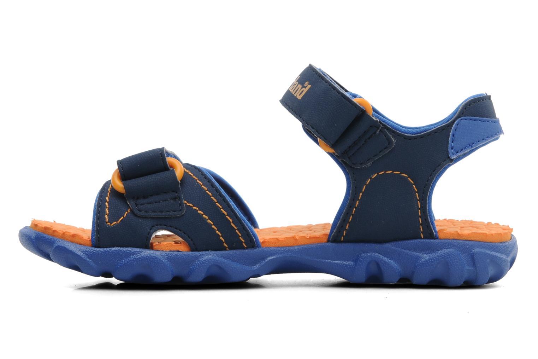 Sandalen Timberland Splashtown 2 Strap Sandal J Blauw voorkant